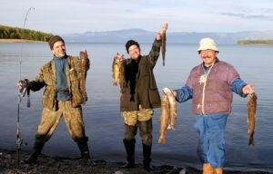 Как ловить рыбу на… портвейн